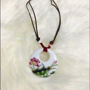 Brand new ceramic necklace